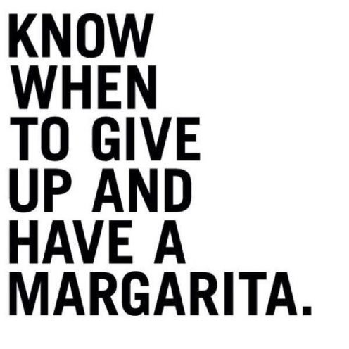 Margaritas Made Me Do It!